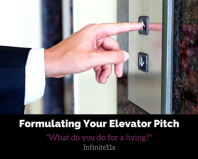 elevator pitch, introduction, sales pitch, what do you do for a living