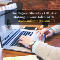 job search mistakes, job seeking
