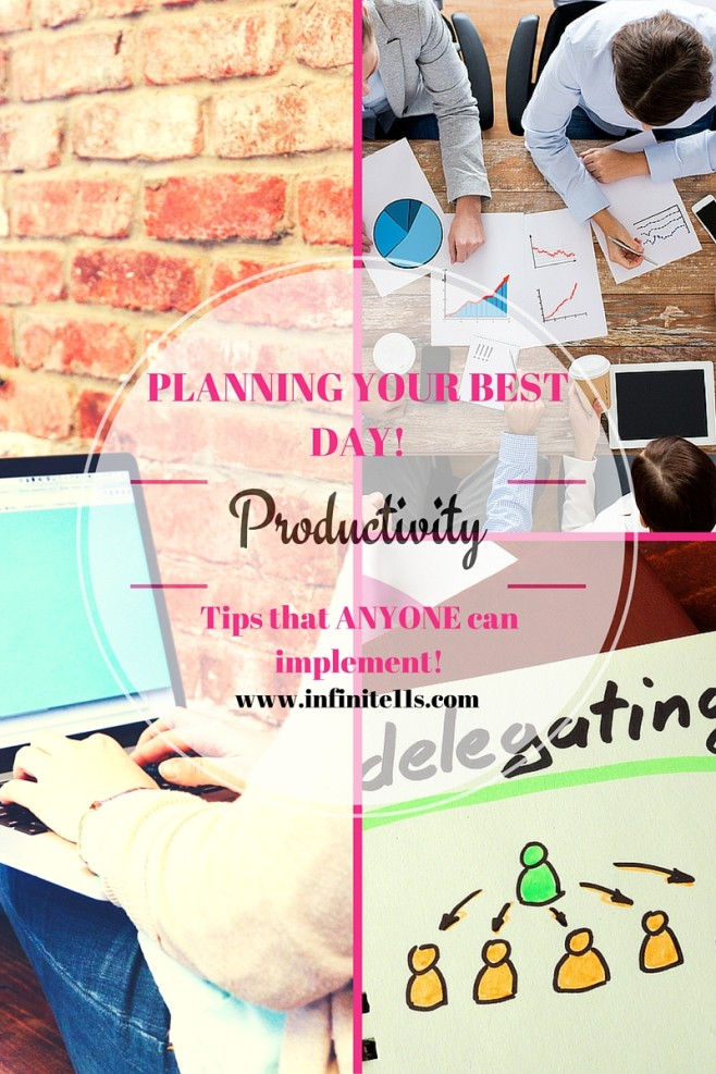 productivity, planning, time management, planning your day