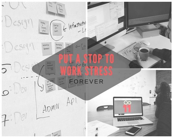 how to get rid of work stress, work life balance, how to manage work stress
